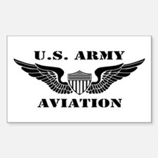 Aviator (2) Sticker (Rectangle)