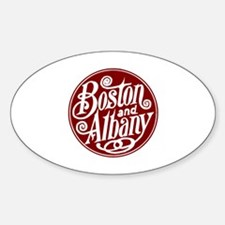 Unique Vintage transportation Sticker (Oval)