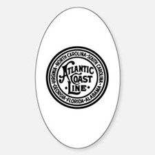 Cool Train stations Sticker (Oval)