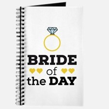 Bride of the Day Journal