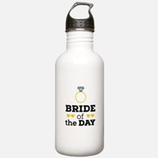 Bride of the Day Water Bottle