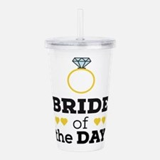 Bride of the Day Acrylic Double-wall Tumbler
