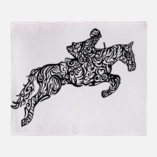 Cute Equine Throw Blanket