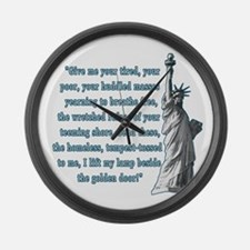 Statue of Liberty Large Wall Clock