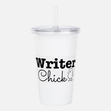 Writer Chick Acrylic Double-wall Tumbler