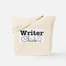 Writer Chick Tote Bag