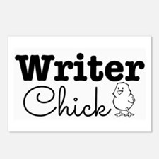 Writer Chick Postcards (Package of 8)