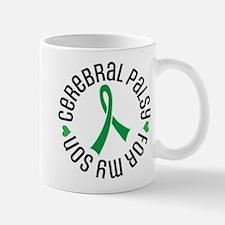 Cerebral Palsy Son Ribbon Mugs