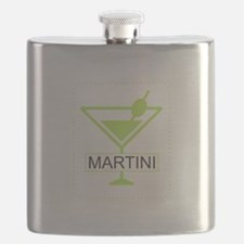 Martini Apple Green Flask