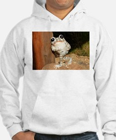 Happy frog with big eyes Sweatshirt