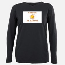 I'd Rather Be In St. Barths T-Shirt
