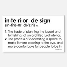 interior design DEFINITION Rectangle Decal