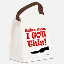 I GOT THIS! Canvas Lunch Bag