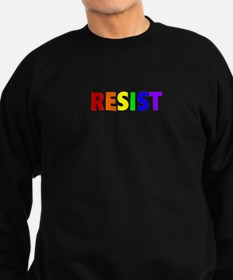 Resist 1 Rainbow Dark Sweatshirt