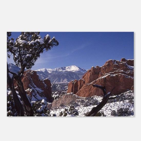 Cool Pikes peak Postcards (Package of 8)