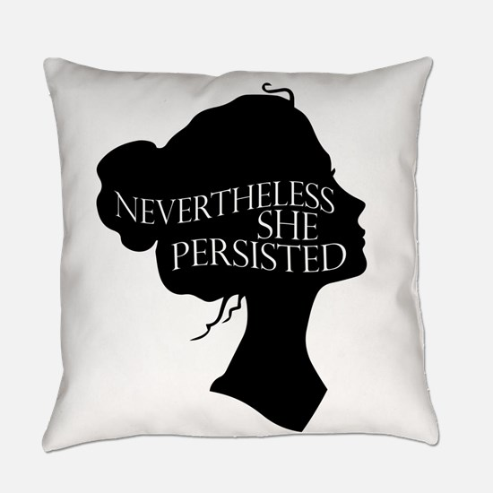 She Persisted Everyday Pillow