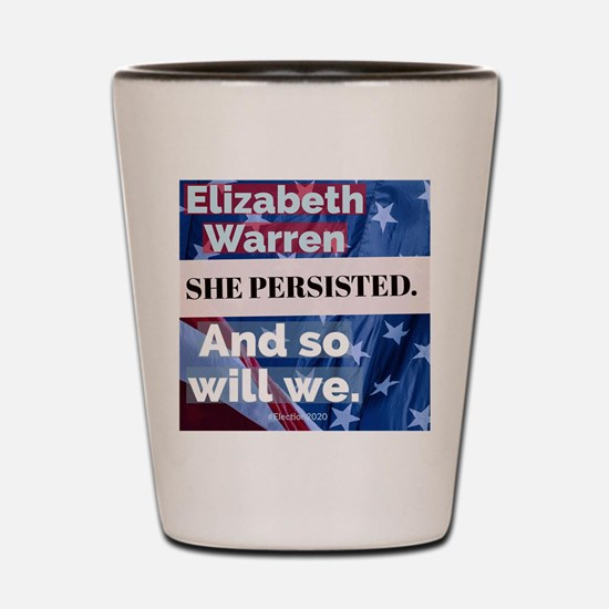 Cute Elizabeth warren Shot Glass