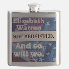 Unique Elizabeth warren Flask