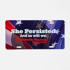 Cute Warren president Aluminum License Plate
