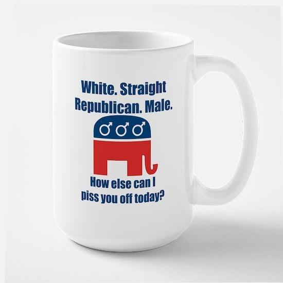 Republican Male Large Mug