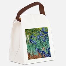 Van Gogh Iris Canvas Lunch Bag