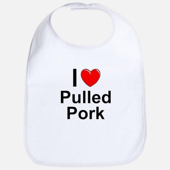 Pulled Pork Cotton Baby Bib