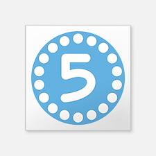 5th Birthday Sticker
