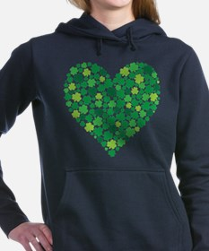 Irish Shamrock Heart - Sweatshirt
