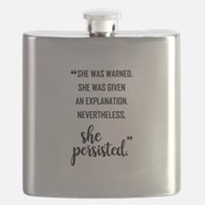 SHE PERSISTED Flask