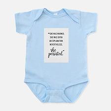 SHE PERSISTED Infant Bodysuit