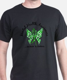 Mental Health Butterfly 6.1 T-Shirt