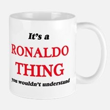 It's a Ronaldo thing, you wouldn't un Mugs