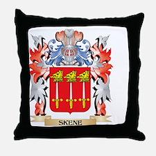 Skene Coat of Arms - Family Crest Throw Pillow