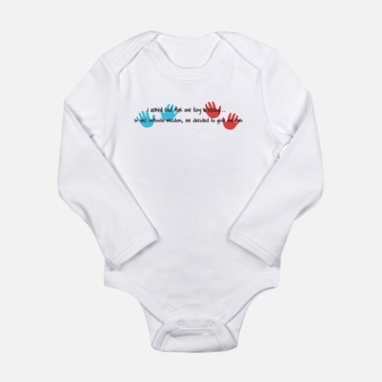 Twins Blessings Body Suit