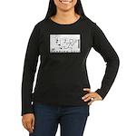 RL Women's Long Sleeve Dark T-Shirt