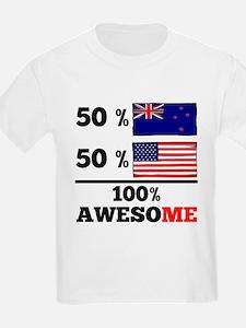Half Kiwi Half American T-Shirt