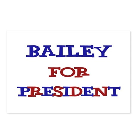 Bailey for President Postcards (Package of 8)