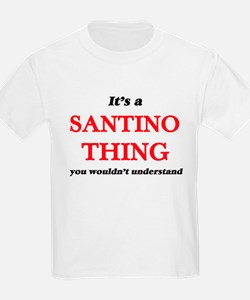 It's a Santino thing, you wouldn't T-Shirt