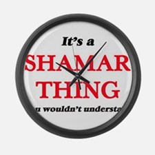 It's a Shamar thing, you woul Large Wall Clock