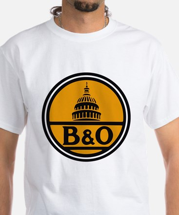 Baltimore and Ohio train logo T-Shirt