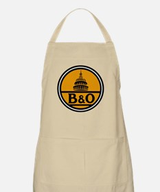 Baltimore and Ohio train logo Light Apron