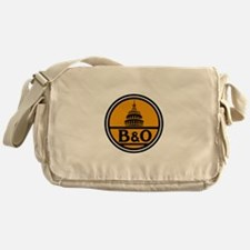 Baltimore and Ohio train logo Messenger Bag