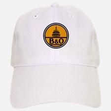 Baltimore and Ohio train logo Baseball Baseball Cap