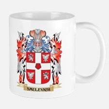 Smulevich Coat of Arms - Family Crest Mugs