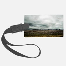 Cute Wide open! Luggage Tag