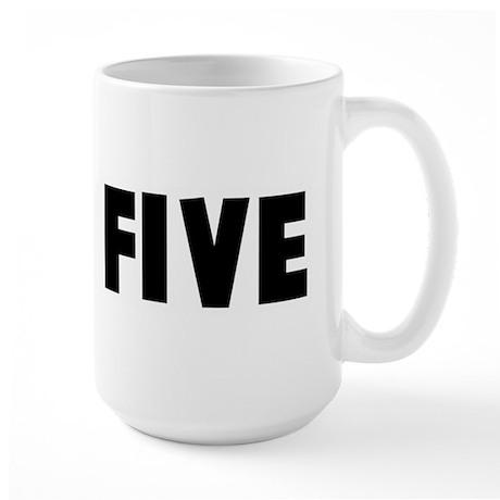 High five Large Mug