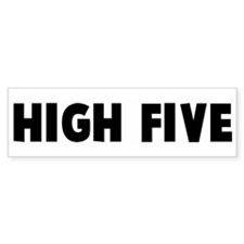 High five Bumper Bumper Sticker
