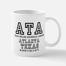 TEXAS - AIRPORT CODES - ATA - HALL~MILLER MUN Mugs