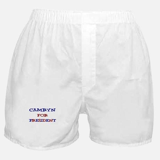 Camryn for President Boxer Shorts