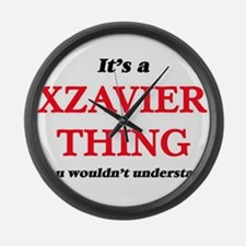 It's a Xzavier thing, you wou Large Wall Clock